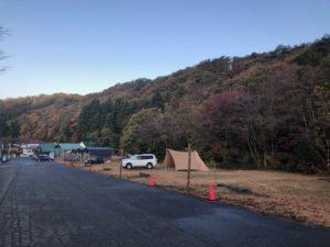 星空が見れて売店が充実しているキャンプ場 六呂師高原温泉キャンプグランド